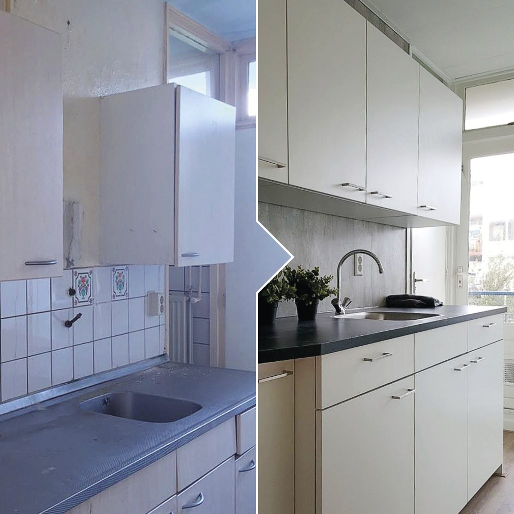 Keukenrenovatie Faay Mitros