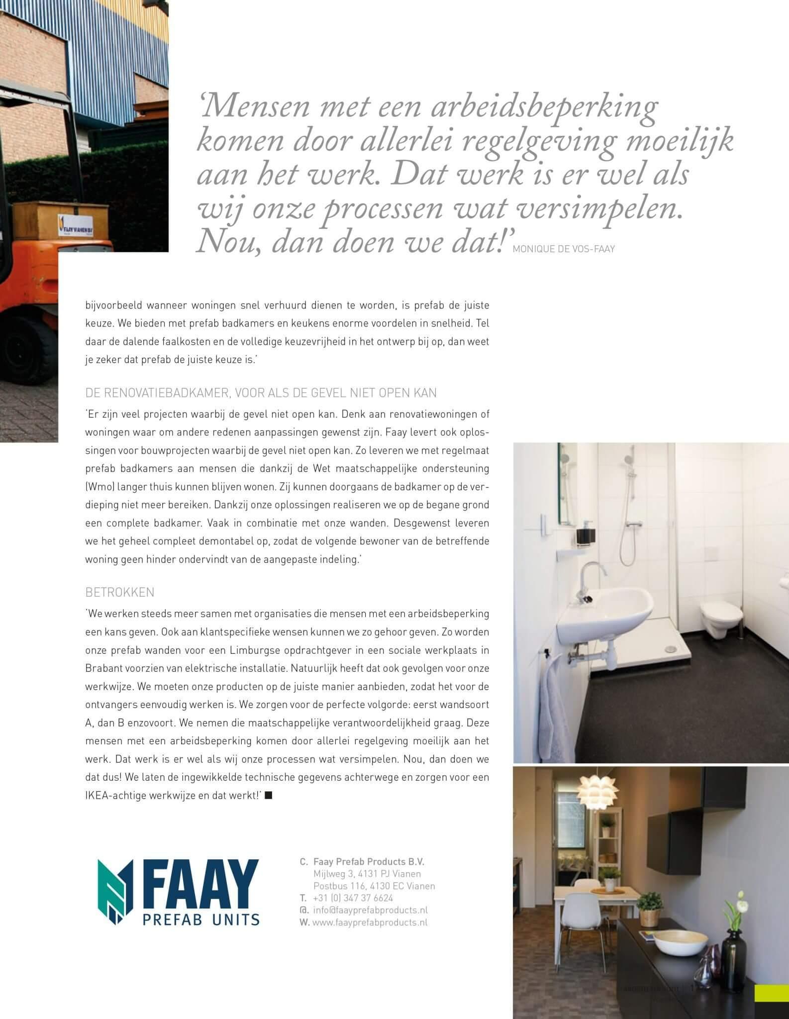 Faay Wanden en Plafonds - ArchitectenPunt