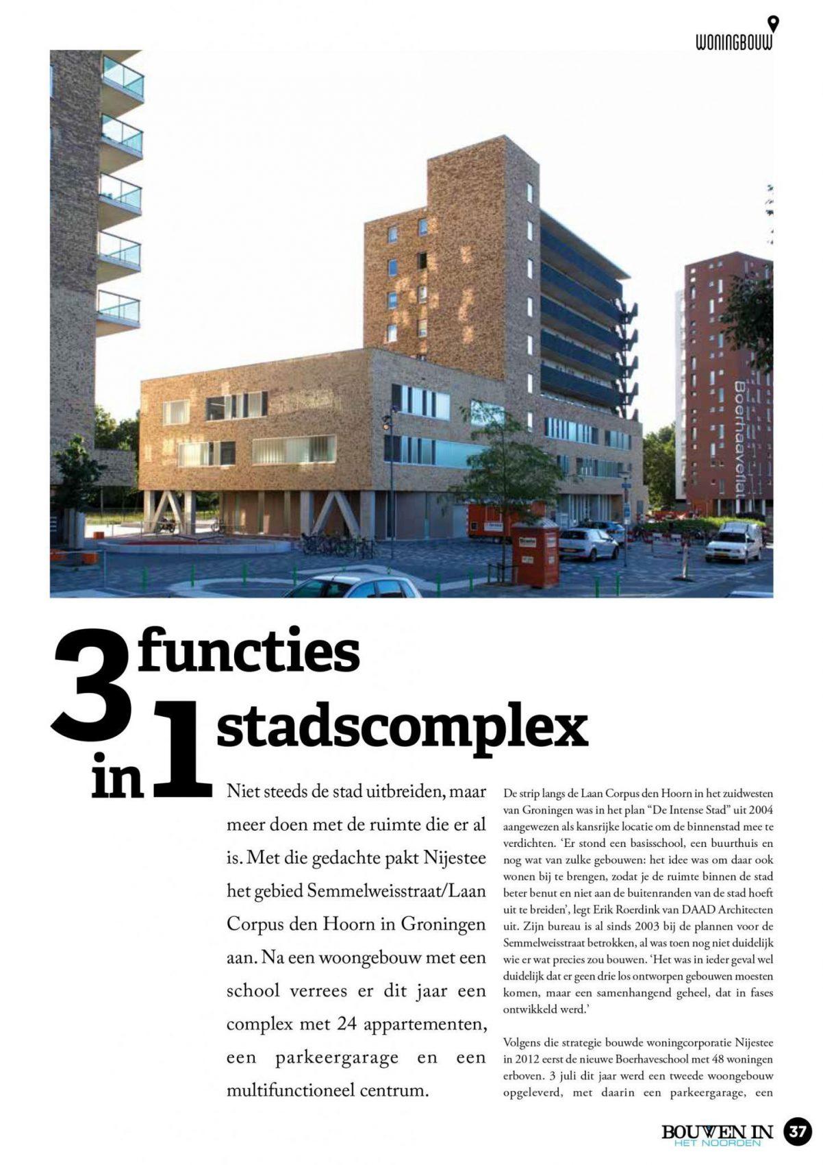 Faay Wanden en Plafonds - BihN Semmelweisstraat