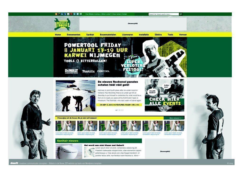 Faay Wanden en Plafonds - Bikkels in de bouw - lancering website