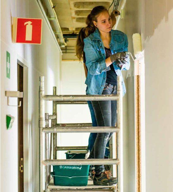 Faay Wanden en Plafonds - Bouw je eigen studentenkamer