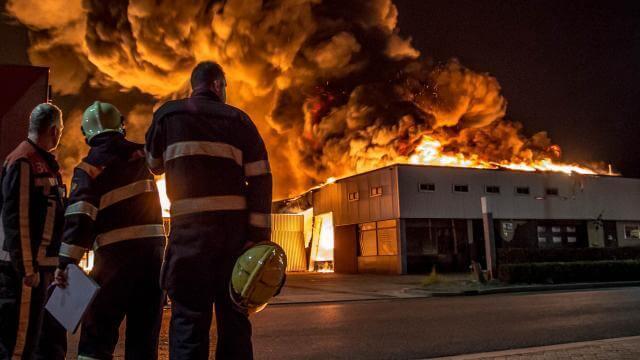 Faay Wanden en Plafonds - Brandveiligheid bedrijfspand