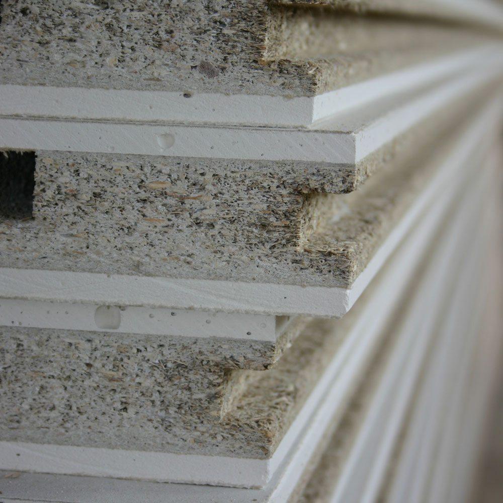 Faay Wanden en Plafonds - Duurzaamheid - VP54 panelen kern vlasscheven