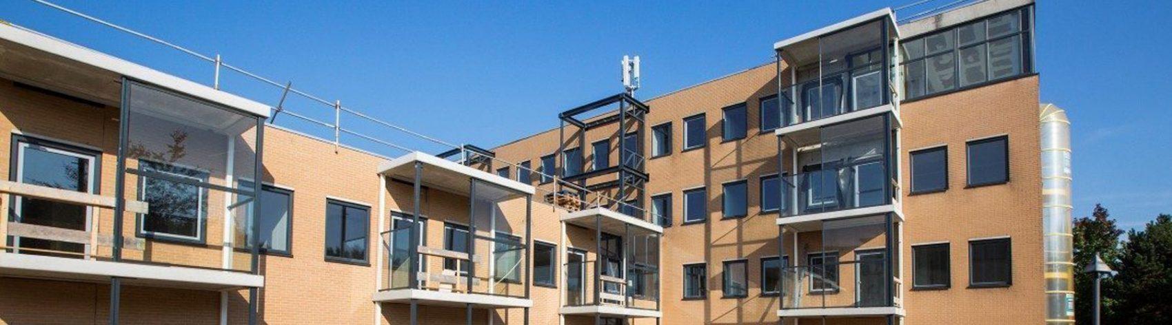 Transformatie voormalig kantoorgebouw in 50 huurappartementen