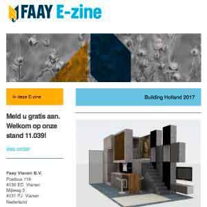 Faay Wanden en Plafonds - E-zine