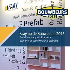 Faay Wanden en Plafonds - Faay op de bouwbeurs 2015