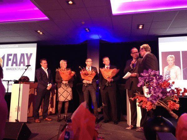 Faay Wanden en Plafonds - genomineerd voor 'Ondernemer van het Jaar voor Vijfheerenlanden 2015'