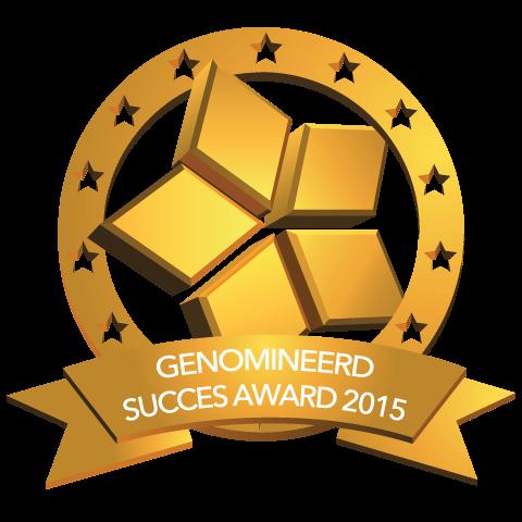 Faay Wanden en Plafonds - genomineerd succes award 2015
