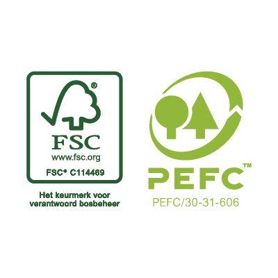 Faay Wanden en Plafonds - PEFC FSC