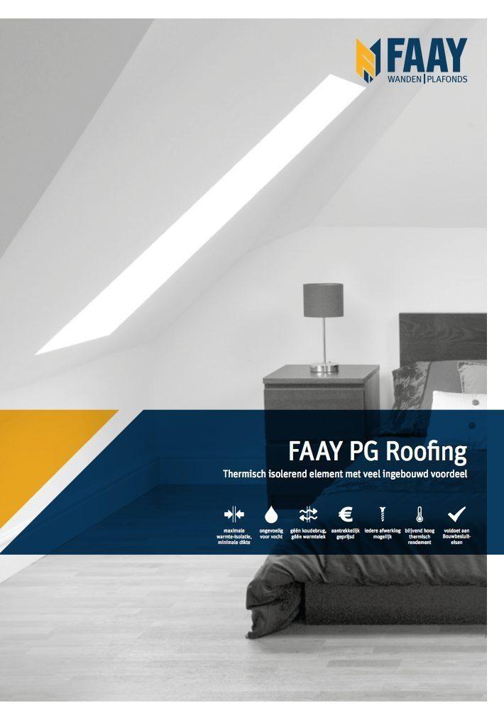 Faay Wanden en Plafonds - PG60 roofing