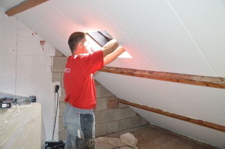 Faay Wanden en Plafonds - PG90 Roofing panelen - Zolderrenovatie De Meern