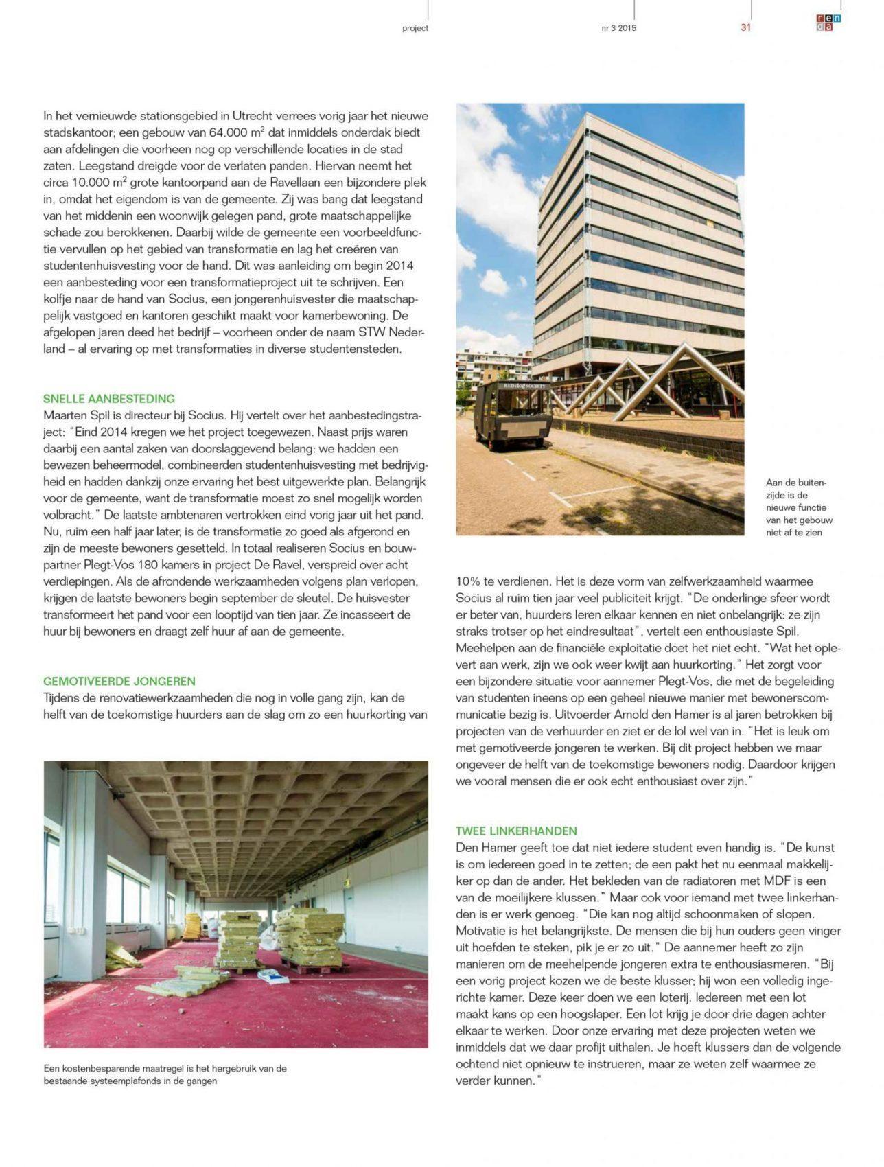 Faay Wanden en Plafonds - Renda - Socius wonen