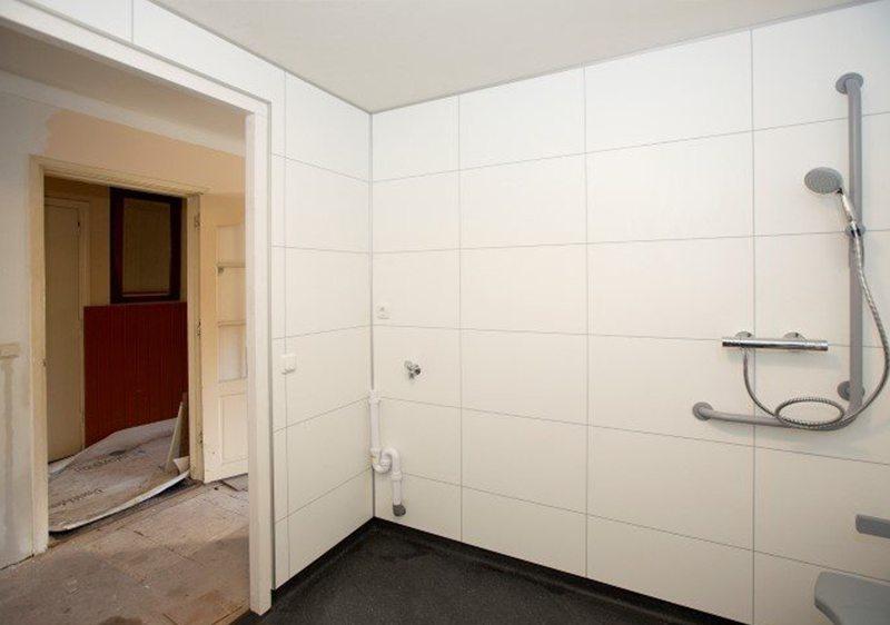Wanden Voor Badkamer.Prefab Badkamer Woning Driebergen Faay Wanden En Plafonds