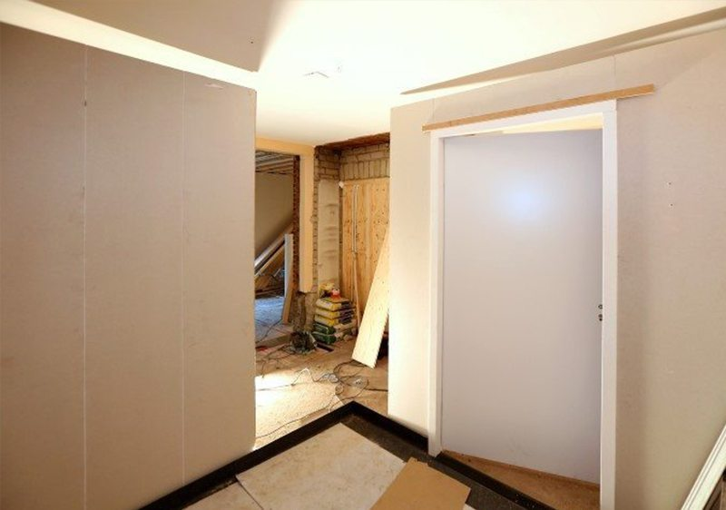 Faay Wanden en Plafonds - Scheidingswand VP54 - Prefab badkamer Driebergen