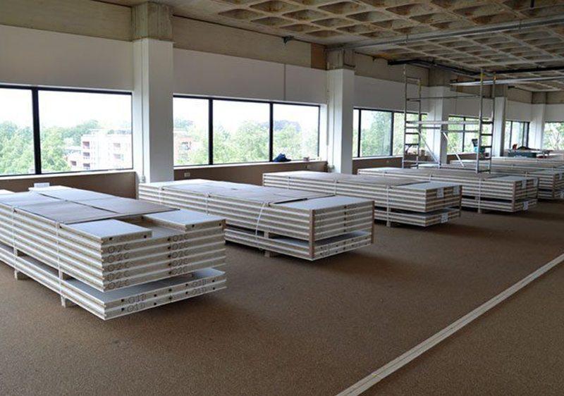 Faay Wanden en Plafonds - Transformatie Ravellaan - VP70 IW100 VP54