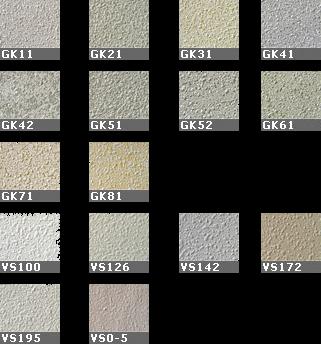 Faay Wanden en Plafonds - Wandbespuiting - Kleuren