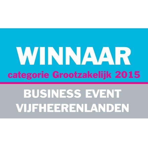 Faay Wanden en Plafonds - Winnaar categorie Grootzakelijk 2015 - Business event