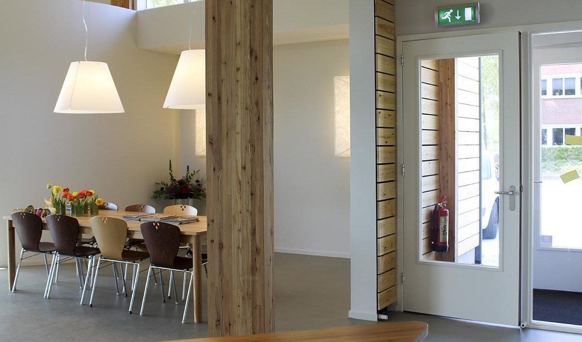 Faay Wanden en Plafonds - bio-based demohuis - ORGA architect - Tandarts