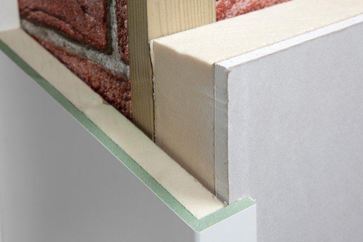 Faay Wanden en Plafonds - dagkant detail - energiebesparing