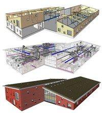Faay Wanden en Plafonds - Model Veldhuizerschool BIM