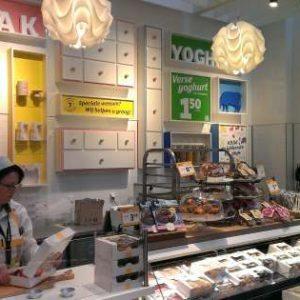 Faay Wanden en Plafonds - Scheidingswand VP70 - Jumbo foodmarkt Amsterdam
