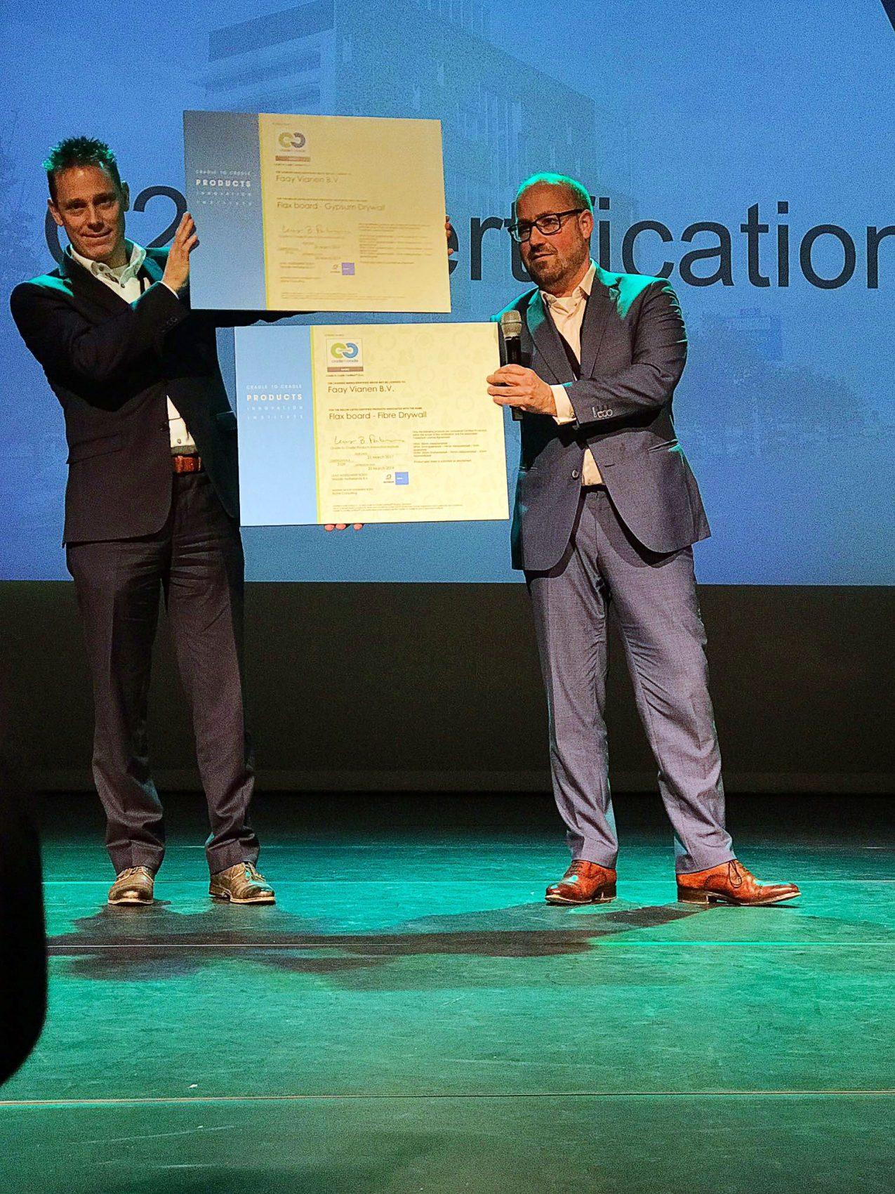 Faay Wanden en Plafonds - C2C certificaten