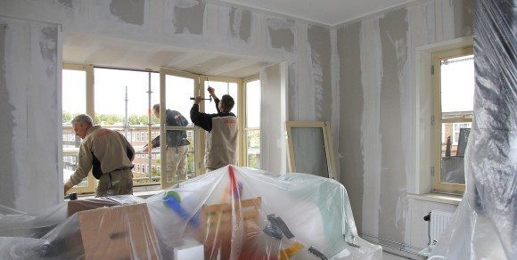 Faay Wanden en Plafonds - voorzetwand met geïsoleerde dagstukken