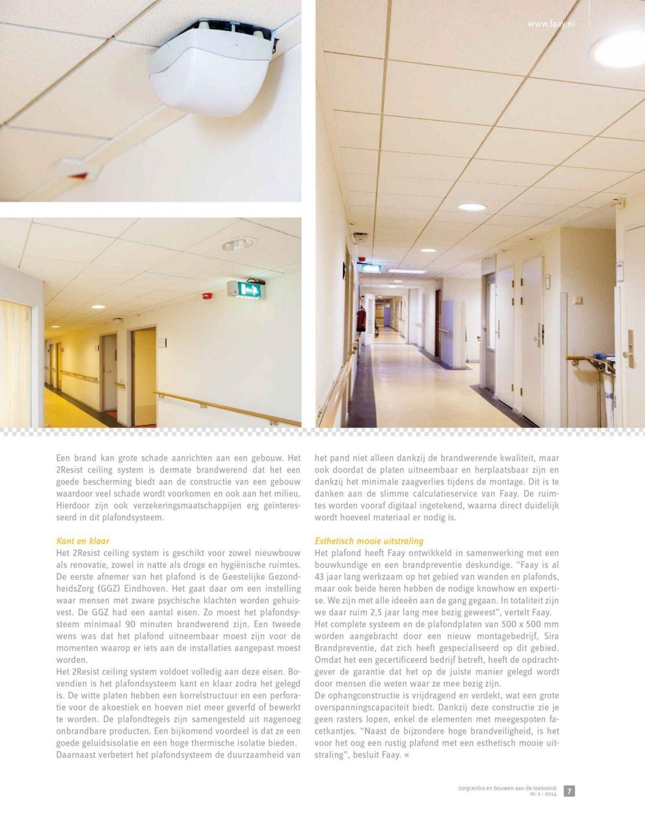 Faay Wanden en Plafonds - Zorgcentra - 2resist
