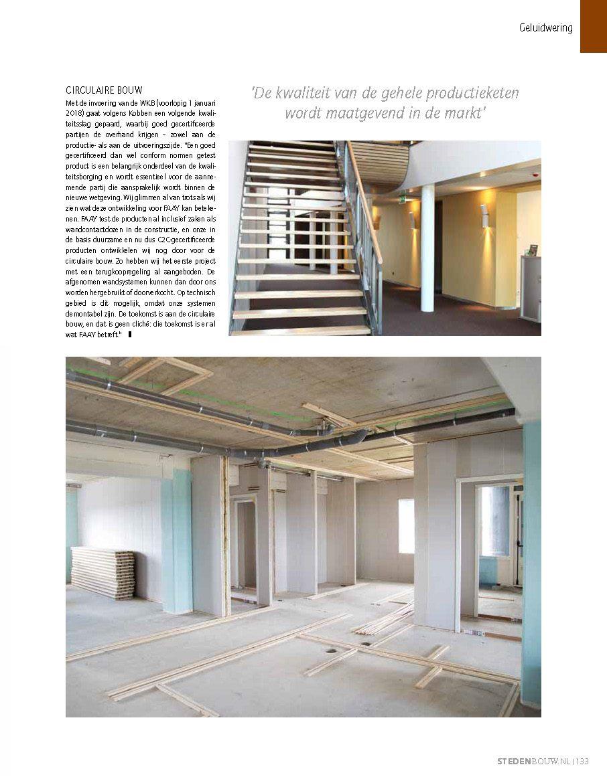 Faay Wanden en Plafonds in Stedenbouw, C2C